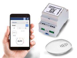 Wi-Fi termosztát vezeték nélküli hőérzékelővel [COMPUTHERM_B300RF]