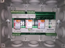 Relédoboz [ECRD2-v-IP55]