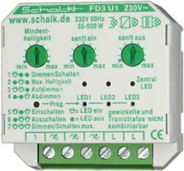 Távvezérelhető  dimmer [FD3 U1]