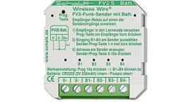 Rádió adó relé 4 bemenettel [FV2 S] Wireless Wire (gázkészülék reteszelés!)