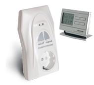 Rádiófrekvenciás dugalj + termosztát (párban) [Q1RX + Q8RF]