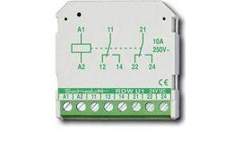 Kapcsoló relé két váltó kontakttal [RDW U1]