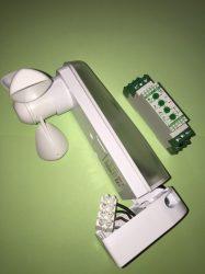 Szél és fény határérték kapcsoló+szenzor [SMS1 + SWL3]