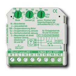 Oda/Vissza (redőny) vezérlő relé [UMS U5] 230V AC