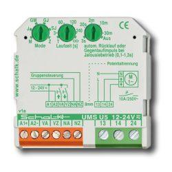 Oda/Vissza (redőny) vezérlő relé [UMS U5] 12-24V UC