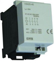 20A-es mini kontaktor [VS420]